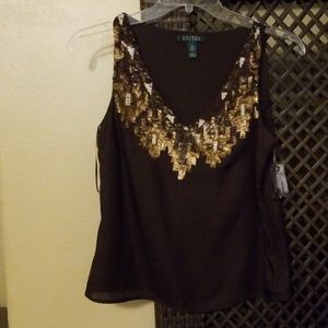 Lauren shirt. New with tags and extra sequins.